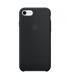 Apple iPhone 7 Silicone Case - Black (MMW82)