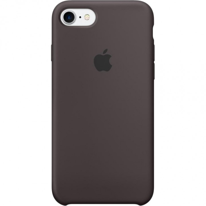 Apple iPhone 7 Silicone Case - Cocoa (MMX22)