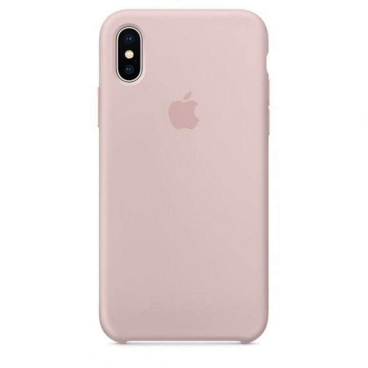 Apple iPhone X Silicone Case - Pink Sand (MQT62)