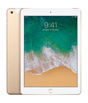 Apple iPad Wi-Fi + Cellular 128GB Gold 2018 (MPG52)