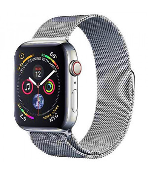 Apple WATCH Series 4 GPS + LTE 40mm Stainless Steel Case with Milanese Loop (MTUM2)