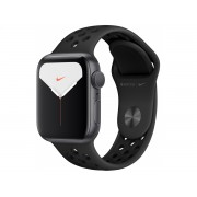 Apple Watch Series 5 Nike (GPS + Cellular) 44mm SG AluminumCase Anthracite/Black Nike (MX3A2, MX3F2) Уценка